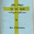 'The Price to be Paid' by Stimson
