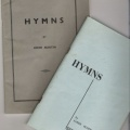 Hymn Booklets of John Martin and Sandy Scott