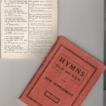 The Leaflet and an early Hymn Book