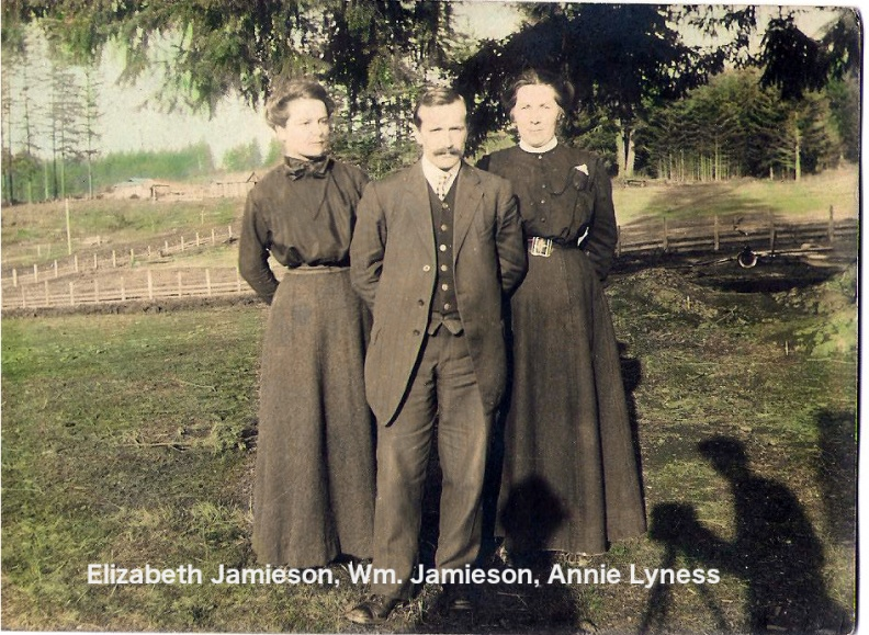 Jamieson, Elisabeth,  William, Annie Lyness