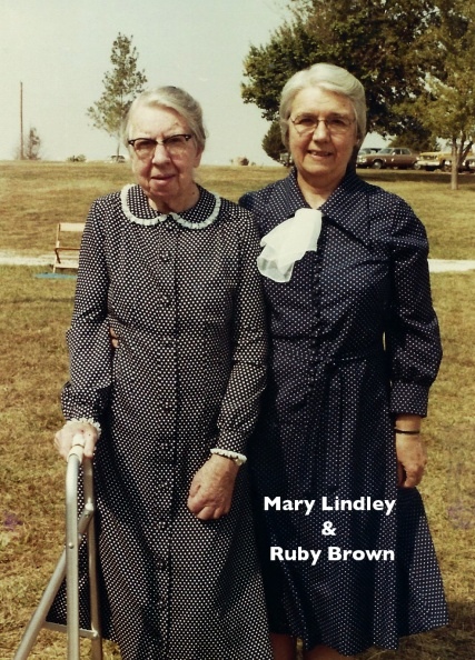 Lindley, Mary & Ruby Brown