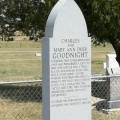 Grave-Tombstone Goodnight Chas-Mary