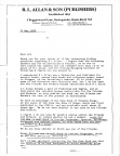R. L. Allan Letter May 25, 1988 -page 1