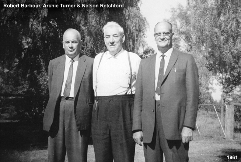 Barbour, Robert, Archie Turner, Nelson Retchford
