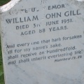 Grave - William John Gill Tombstone