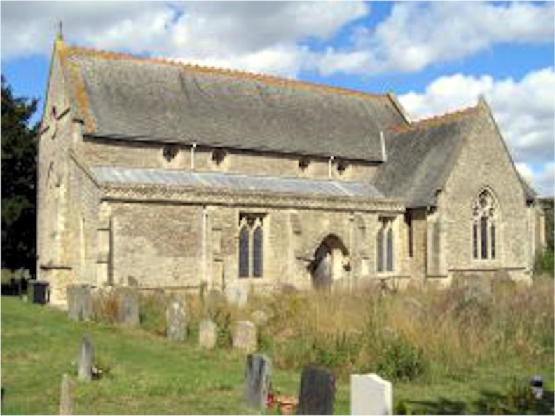 Church of St James-West Hanney, England