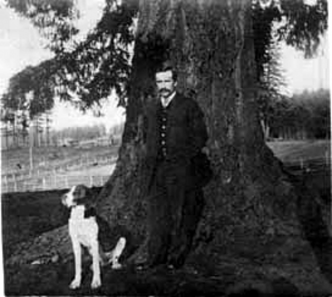 Jamieson, William w/dog