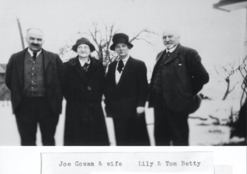 Betty, Tom & Elizabeth (Lily)