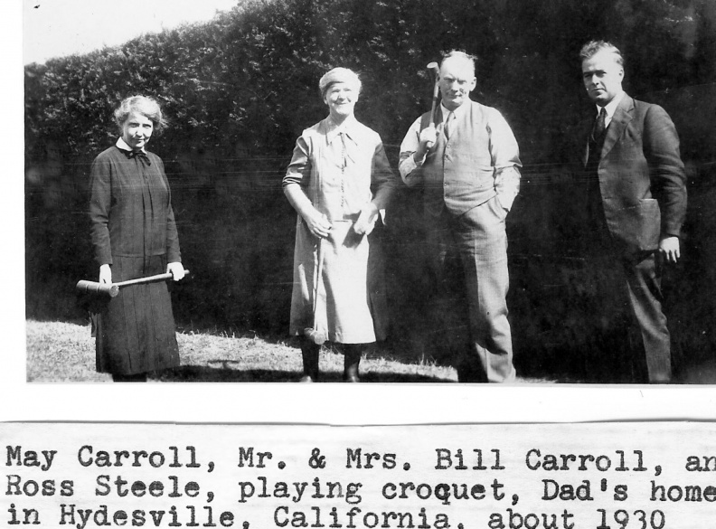 Carroll, William (Bill) & Margaret (Maggie)