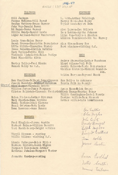 IL IN KY MI OH 1946-47 List