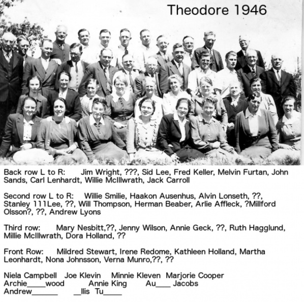 SK 1946 Theodore Convention