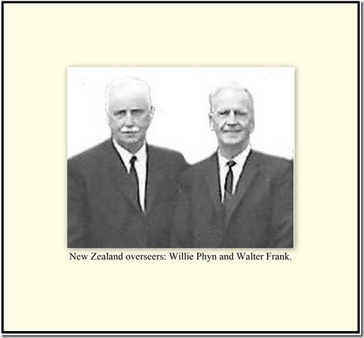 Head Workers- Willie Phyn & Walter Frank