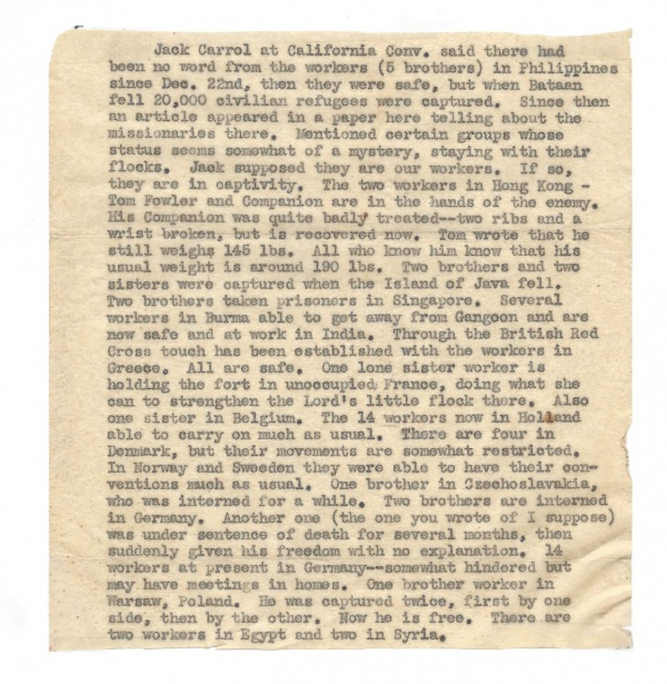 WW2 Report by Jack Carroll