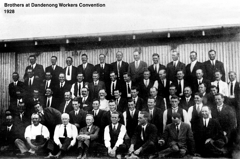 VIC Dandenong  Convention Brother Workers