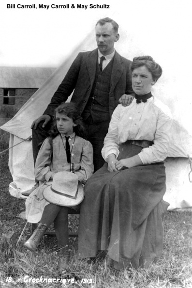 Carroll, Bill, Maggie (1903) & Dtr May.JPG