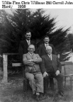 Finn, Willie, Williams Chris, Bill Carroll, Hardy  1938