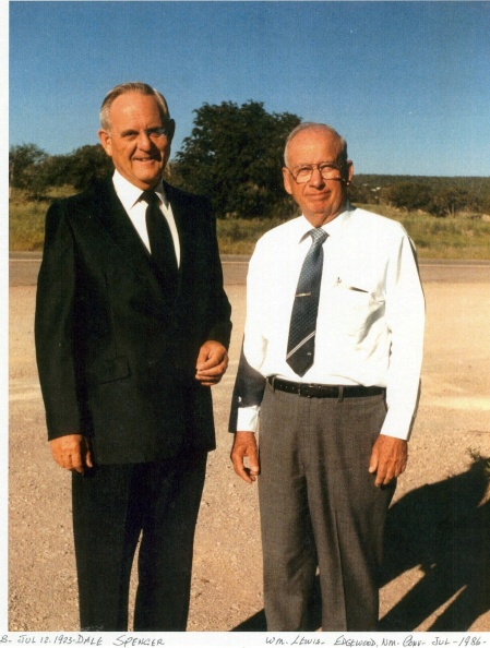 Lewis, Wm. (right) with Dale Spencer.JPG
