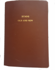 1987 Hymnbook zippered