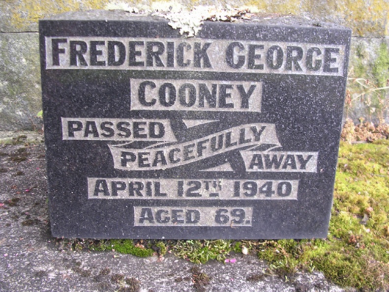 Cooney, Fred-Tombstone